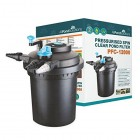 Pressurized Koi Pond Filter 12000L with 11w UV Steriliser Light - All Pond Solutions PFC-12000