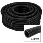 Spares2go Premium Quality 38mm Flexible Fish Pond Hose Flexi Pump Pipe (5M, 10M Or 15M Length)
